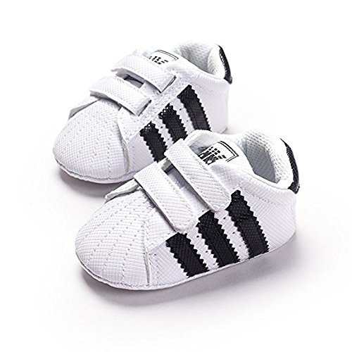 ad617103d6a4d LIVEBOX Newborn Baby Boys  Premium Soft Sole Infant Prewalker Toddler Sneaker  Shoes