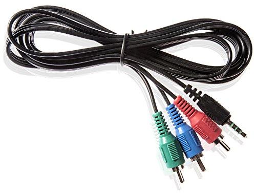Poppstar Adapterkabel YUV Verbindungskabel Klinke auf 3X RGB-Cinch