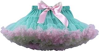 Baby Girls Tutu Skirt Princess Fluffy Soft Tulle Ballet Birthday Party Tutu Pettiskirt Mint Green M
