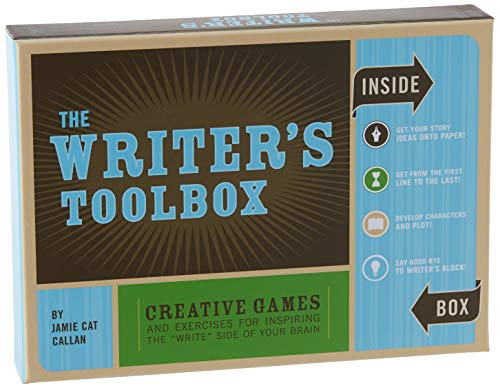 The Writer s Toolbox: Creative Games and Exercises for Inspiring the  Write  Side of Your Brain (Writing Prompts, Writer Gifts, Writing Kit Gifts)