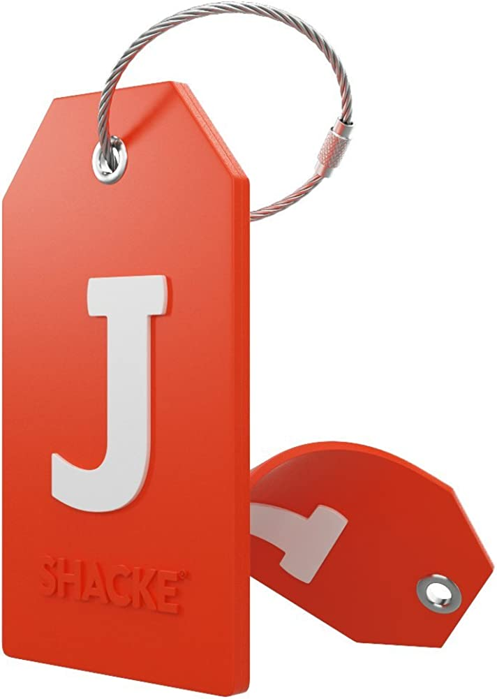 Initial Luggage Tag with online shopping Full Stainless and Large special price !! Steel Cover Privacy