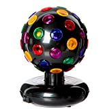 PARTY TIME LA06 LAMPE DISCO 15.2CM, PP, Multicolore, 15 cm