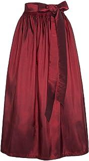 Stützle Damen Dirndl-Schürze weinrot 90cm, BORDEAUX, S