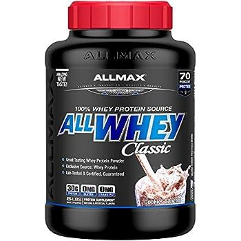 ALLMAX Nutrition オールホエイクラシック100%ホエイプロテイン(クッキー&クリーム2.27 Kg)1 Pack [並行輸入品]XSD