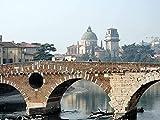 NC69 Italia Verona paisaje arquitectónico HD DIY 5D pintura de diamante decoración de pared única para el hogar decoración de pared de diamantes de imitación de cristal punto de cruz