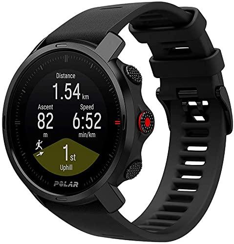 Polar GRIT X - Outdoor multisport watch con GPS con Brújula, Altímetro y Durabilidad de Nivel Militar para Practicar trail running, mountain bike, ciclismo - Batería de Larga Duración