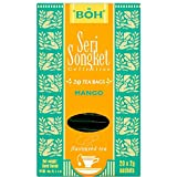 BOH Seri Songket Malaysia Assorted Flavour 20 Teabags Earl Grey with Tangerine/Lychee with Rose/Lime and Ginger/Mango/Passion Fruit/Lemon with Mandarin (Mango)