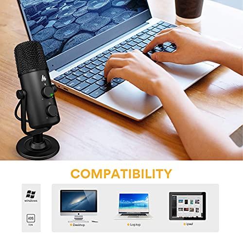 Maono AU-903 Portable USB Microphone (Black)