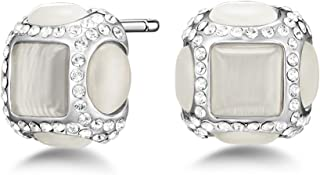 Mestige Mylah Women's Stud Earrings with Swarovski Crystals - MSER3838