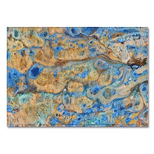 Trendig Modern Design Teppich Abstraktes Textur Rug Für Wohnzimmer Schlafzimmer Flur Home Decor Carpet Polyester Mischgewebe Pflegeleicht,E,120 * 160cm
