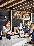 Enders® 1363 Aurora raucharmer Tischgrill, mobiler Holzkohle-Grill, kleiner Grill, rauchfreier Tischgrill, Balkon-Grill, Picknick-Grill, Camping-Grill, Grill mit Belüftung, taupe - 2