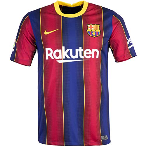 Nike FC Barcelona Maillot domicile Taille L Rouge/bleu roi