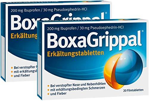 Sparset Boxagrippal 2 x 20 Filmtabletten
