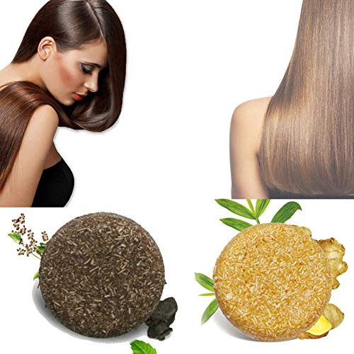 Hair Darkening Shampoo Bar, Organic Grey Reverse Solid Shampoo Bar, Natural Organic Conditioner, Helps Stop Hair Loss, Organic Hair Regrowth
