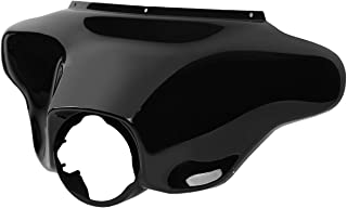 Moto fairing Black Front Batwing Outer Fairing Fits For Harley Touring Electra Street Glide Road King 1996-2013 HD fairing kit