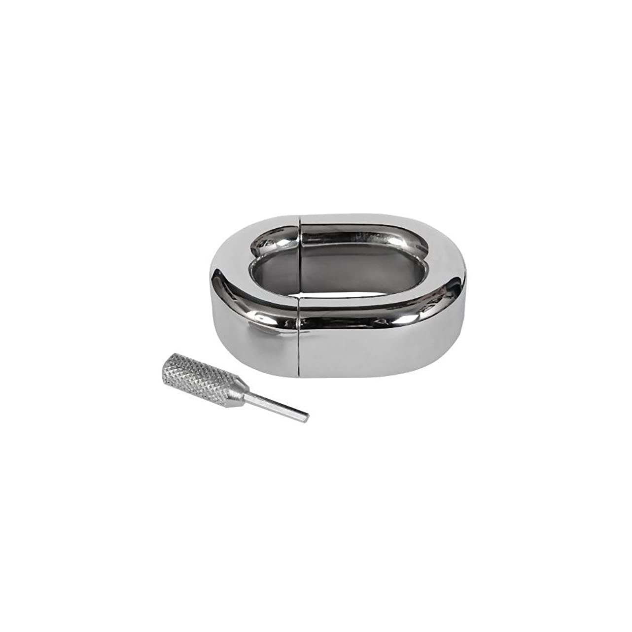 TheChainGang Rounded Oval Ball Stretcher, Surgical Steel Ball Weights Stretchers tbr448499003009