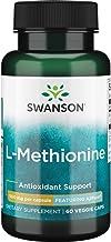 Swanson Amino Acid Ajipure L-Methionine Pharmaceutical Grade 500 Milligrams 60 Veg Capsules