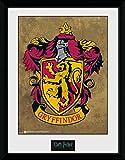 Harry Potter 1art1 Gryffindor, Wappen Gerahmtes Bild Mit
