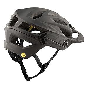 Troy Lee Designs Adult   Trail   All Mountain   Mountain Bike A2 MIPS Decoy Helmet (XL/XXL, Black)