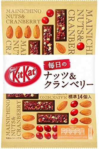 ネスレ日本 キットカット 毎日のナッツ&クランベリー 86.8g ×6袋
