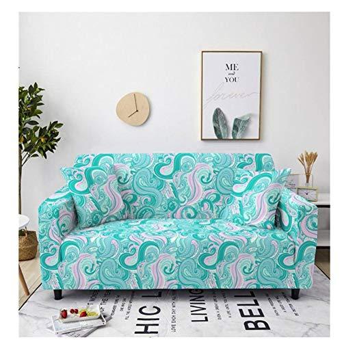 empty Hoekbanken, polyesterstretchstijl mooie druk S4, woonkamer sofa slip beschermhoes