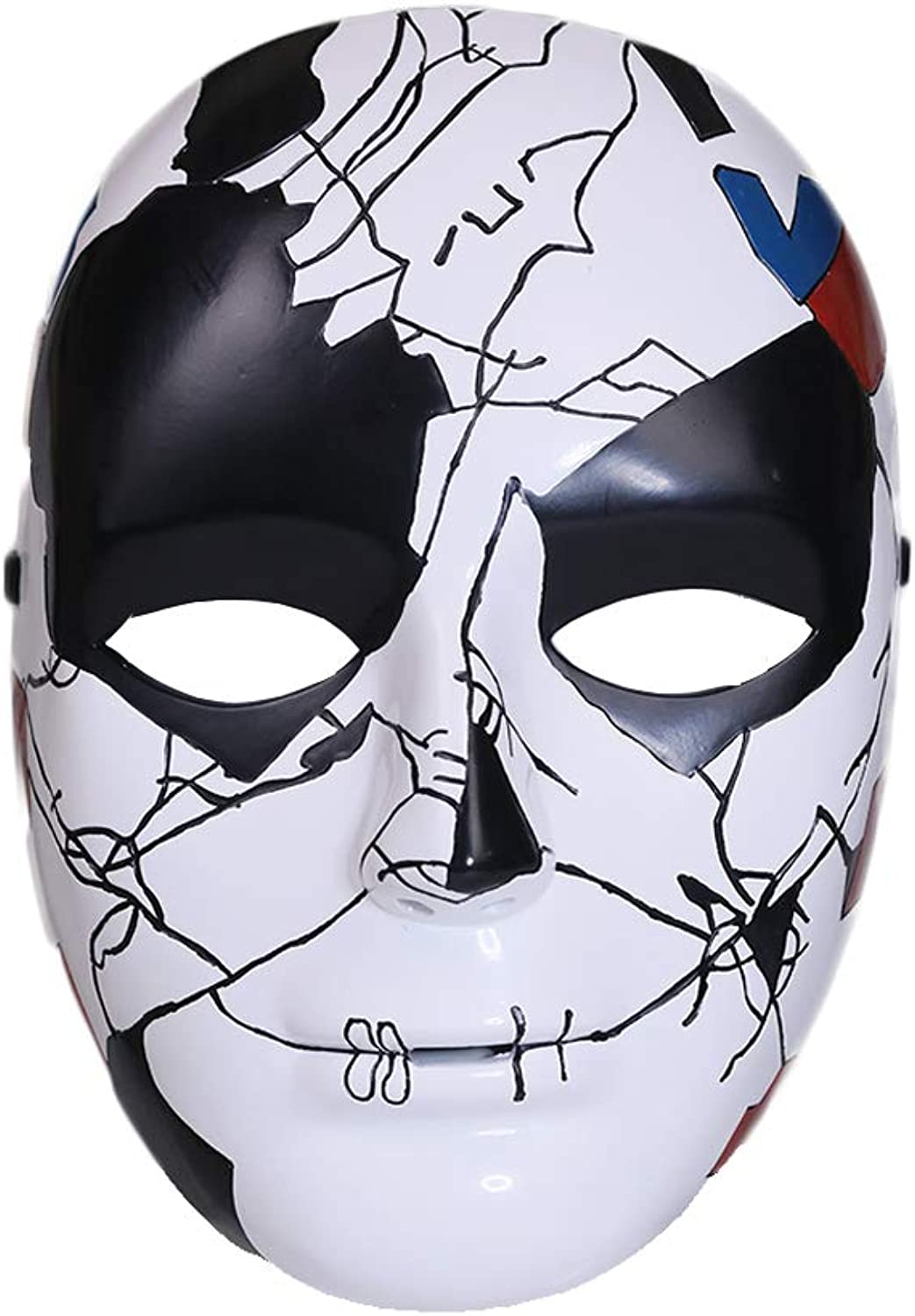 Billy Russo Mask Cosplay Costume Resin Helmet Replica for Adult Men Halloween Fancy Dress Clothing Accessories
