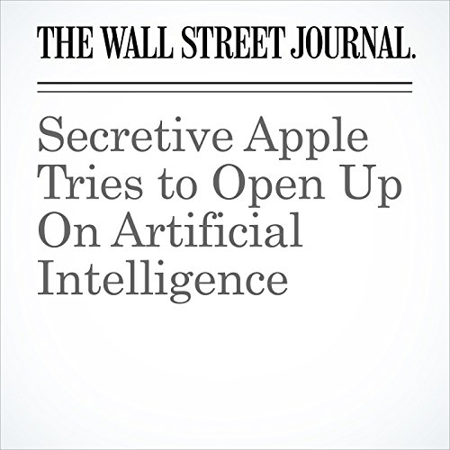 Secretive Apple Tries to Open Up On Artificial Intelligence copertina