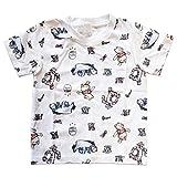 ディズニー キッズ  Tシャツ くまのプーさん パターン 120㎝サイズ AWDS5730