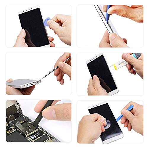 Padarsey 79 in 1 Precision Screwdriver Set,Magnetic Screwdriver Bit Kit,Professional Electronics Repair Tool Kit with Flexible Shaft,Portable Bag for PS4/Laptop/iPhone8/Computer/Phone/Xbox/Tablets/Cam