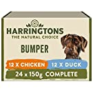 Harringtons Grain Free Wet Dog Food Mixed Flavours 150g, Pack of 24