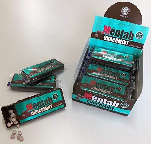 北見ハッカ通商 Mentab メンタブ チョコミント味 9g(70粒入り)×12個