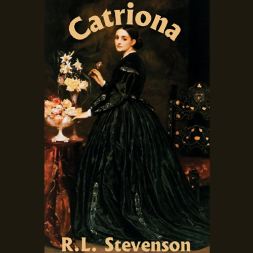Catriona  audiobook cover art