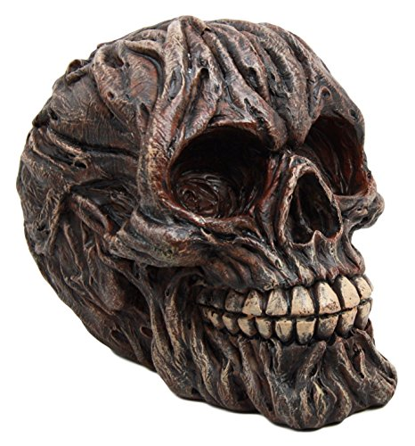 Atlantic Collectibles Swamp Monster With Creeping Roots Skull Decorative Figurine