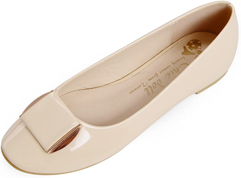 WLJSLLZYQ Fashion Flat Women's shoes Spring Thin shoes Size Korean Leisure shoes