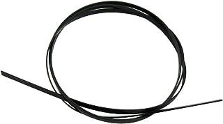 Musiclily Plastic Guitar Binding Purfling Strip 1650 x 6 x 1.5 mm, Black