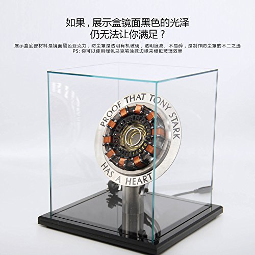 Marvel Avengers Iron Man Arc Reactor with LED Light Tokamak USB Charge Buy Now Get Free Gift Proof that Tony Stark Have a Heart
