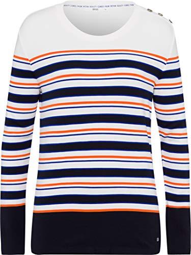 BRAX Damen Style Bobbie Leichter Sweatringel Sweatshirt, Navy, 36