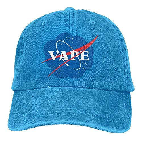 Desconocido Vaping Logo Denim Dad Cap Gorra de béisbol Gorra Ajustable para el Sol