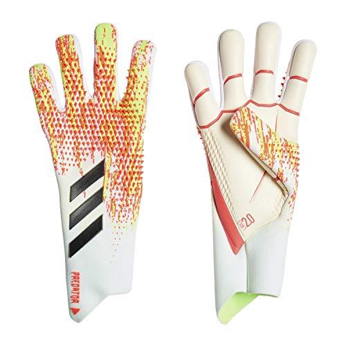 adidas Herren Handschuhe Pred Pro, White/Pop, 8, FJ5983