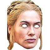Lord Fox Máscara facial Lena Headey Cersei Lannister Juego de Tronos Celebrity 5 mascarillas con cuerda elástica lista para usar