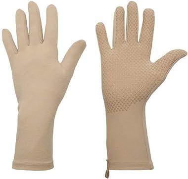 Foxgloves Grip Gloves (Sahara, Large)