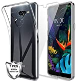 MP-MALL Case for LG K50 + [1 x Tempered Glass Screen