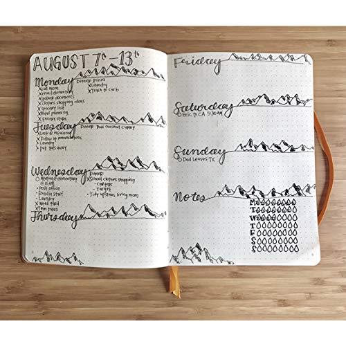 Rhodia Goalbook Journal, A5, Dotted - Orange Photo #9