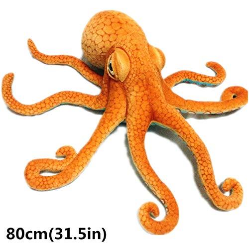 Yinuneronsty Riesen-Plüschtier, realistisch, Meerestiere, Plüsch B