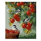 Puzzles De 1000 Piezas Para Adultos Manzana Roja Y Pájaro Ensamblaje De Madera Decoración Para El Hogar Juego De Juguetes Juguete Educativo Para Niños Y Adultos