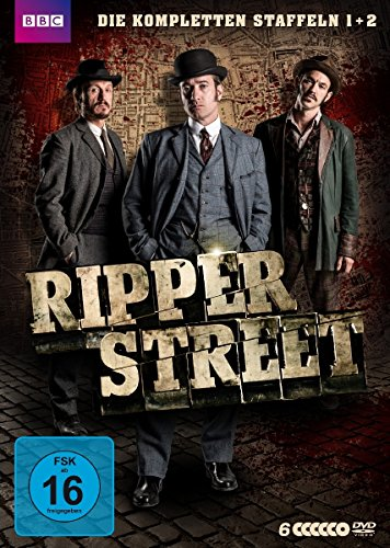 Ripper Street Boxset (Staffel 1 + 2) [6 DVDs]