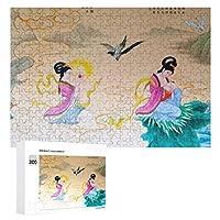 中国絵画 300ピースのパズル木製パズル大人の贈り物子供の誕生日プレゼント