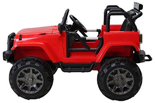RC Kinderauto kaufen Kinderauto Bild 1: Actionbikes Motors Kinder Elektroauto Offroad Jeep 2 x 35 Watt (Rot)*