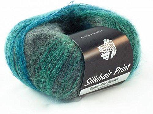 Lana Grossa Silkhair Print 331 / 50g Wolle