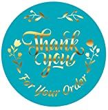 """Size - 1.5 Inch and 500 Pieces Design & Finishing - High Resolution, Floral Print on Matte Finish Self-Adhesive Paper. Feature - Waterproof, Easy to Peel and Stick. Colour - Rich-Quality Colors with Attractive Design. Suitable for - Perfect """"Thank Yo..."""